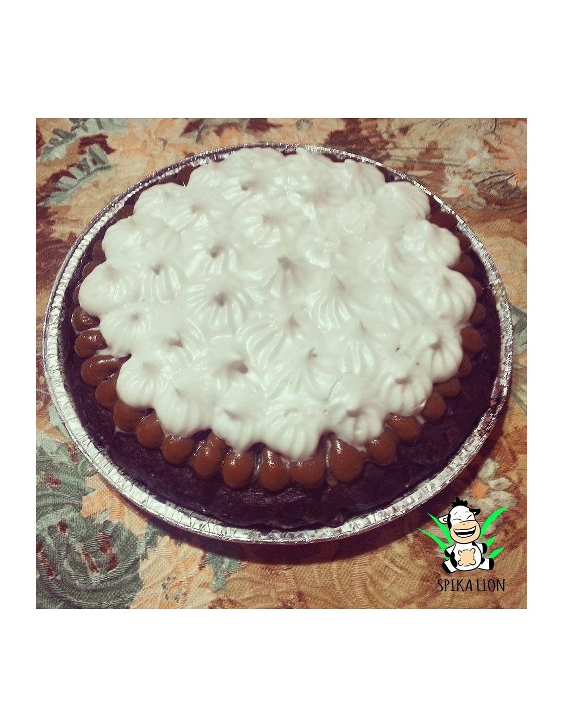 Torta Brownie C Dulce De Leche De Coco Spikalion